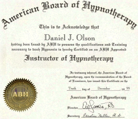 National Certification Training in Hypnosis and Hypnotherapy